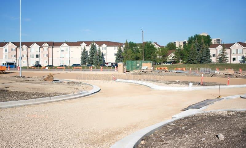 Waverley-Straßen-Unterführungs-Bau im Juni 2019 stockbild