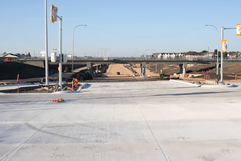 Waverley-Straßen-Unterführungs-Bau im Juni 2019 stockfoto