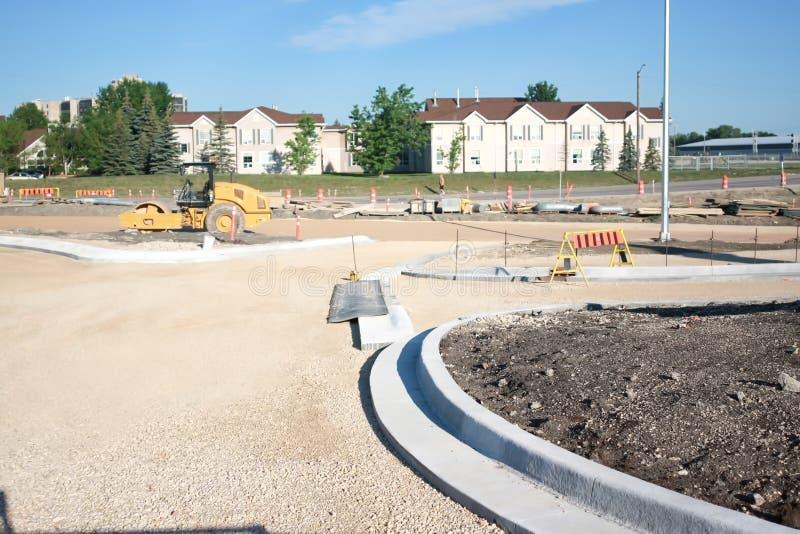 Waverley Street Underpass Construction June 2019. Winnipeg manitoba  canada.  Secondary road work royalty free stock photography