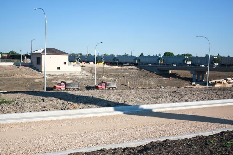 Waverley via sottopassaggio costruzione giugno 2019 immagine stock libera da diritti
