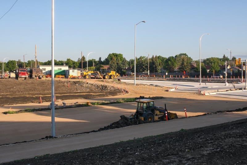 Waverley via sottopassaggio costruzione giugno 2019 immagine stock
