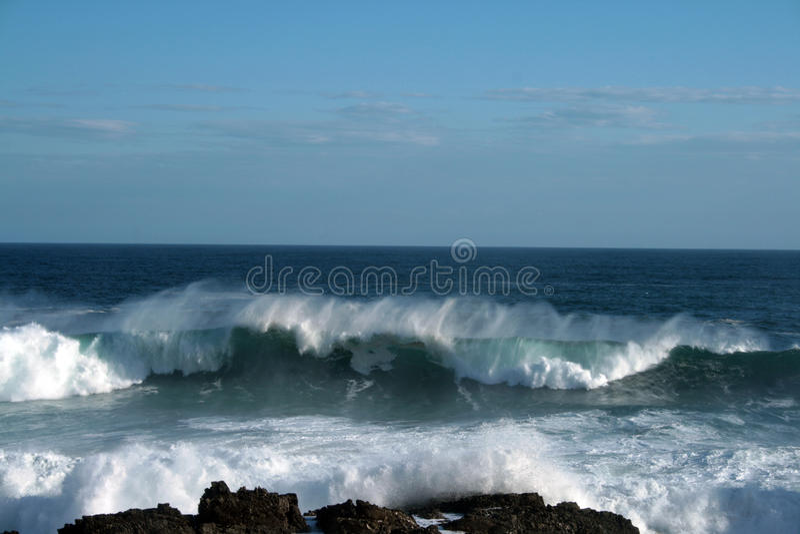 waves royaltyfri bild