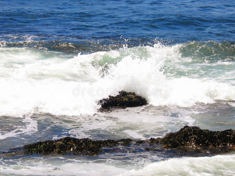 Waves. Crush royalty free stock photography