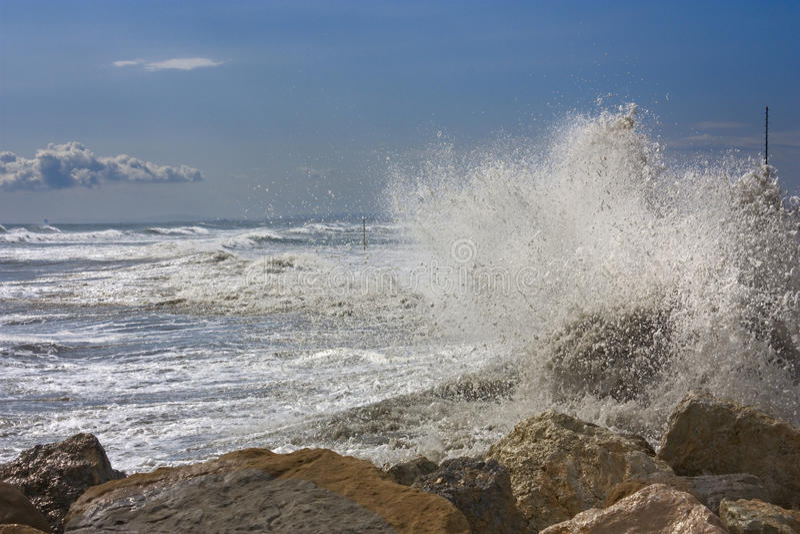 Download Waves stock image. Image of crash, natural, shore, italy - 20809249