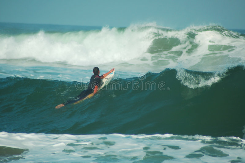 Download Into The Waves Stock Photos - Image: 236503