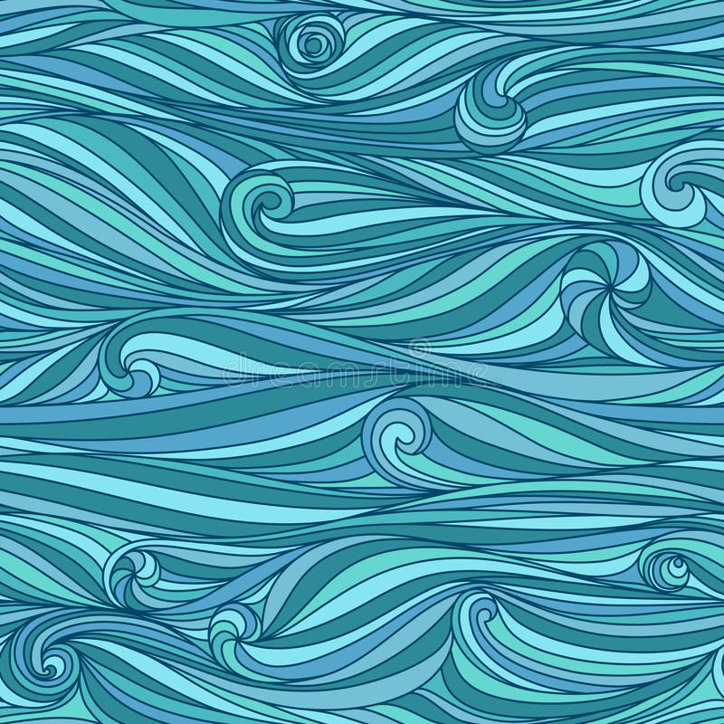Download Waves background stock vector. Image of deco, psychology - 26887897
