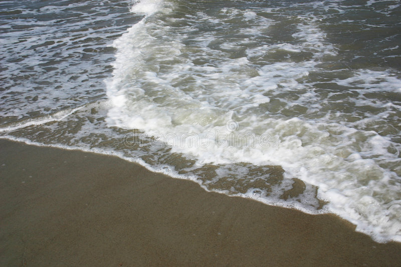 Download Waves on beach stock image. Image of waves, beach, liquid - 150121