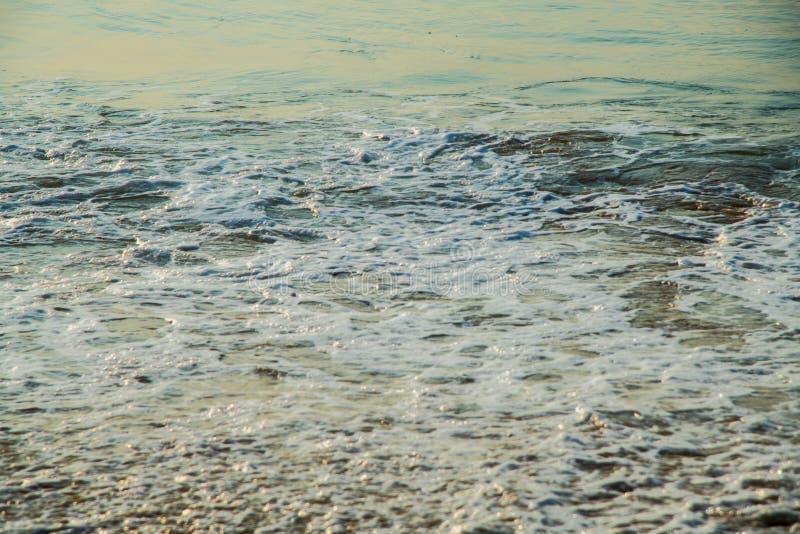 Waves at beach sea water motion blur stock photos