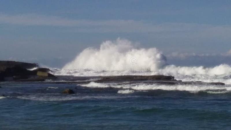 Waves at the Beach stock photos