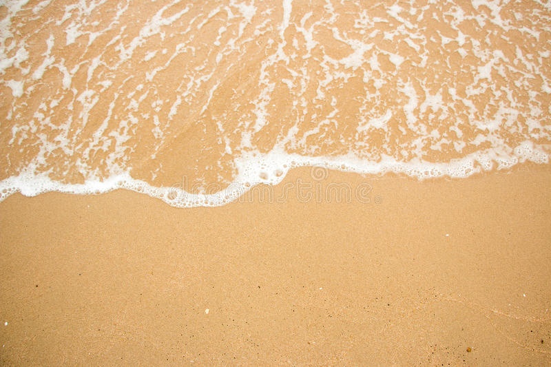 Download Waves On A Beach Summer. Stock Photo - Image: 83714902