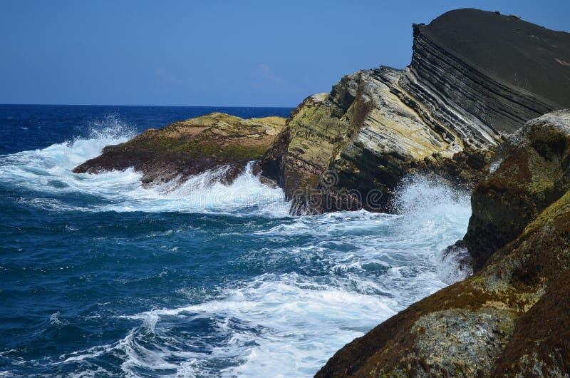 Download Waves of Biri stock image. Image of macadlao, beach, rock - 26004817