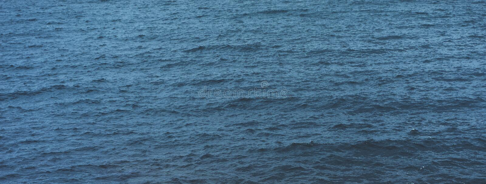 Waves of blue quiet ocean coast landscape. Background sea scape. Panorama horizon perspective view nature hiliday. Travel summer stock photos