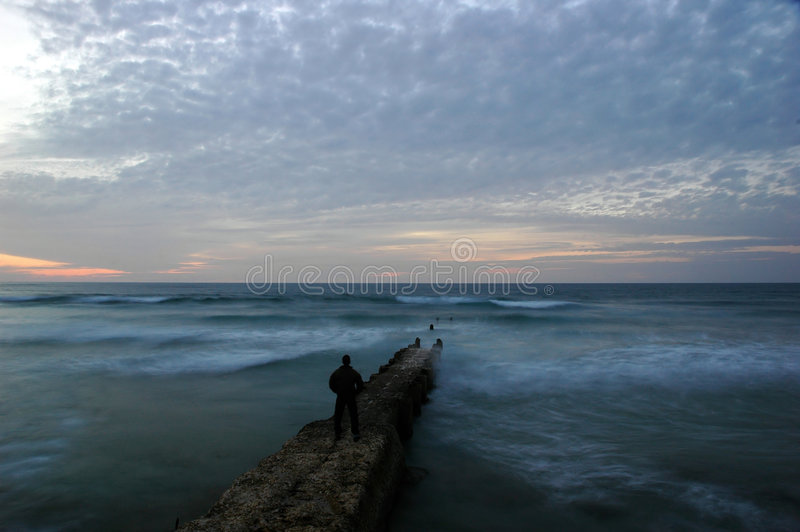 Waves Breaker Stock Photography