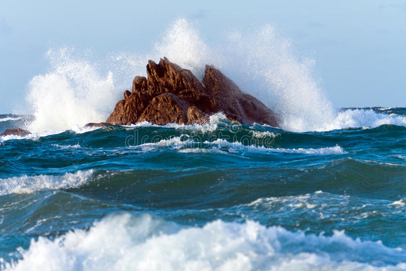 Download Waves breaking stock photo. Image of flowing, blow, blue - 17385260