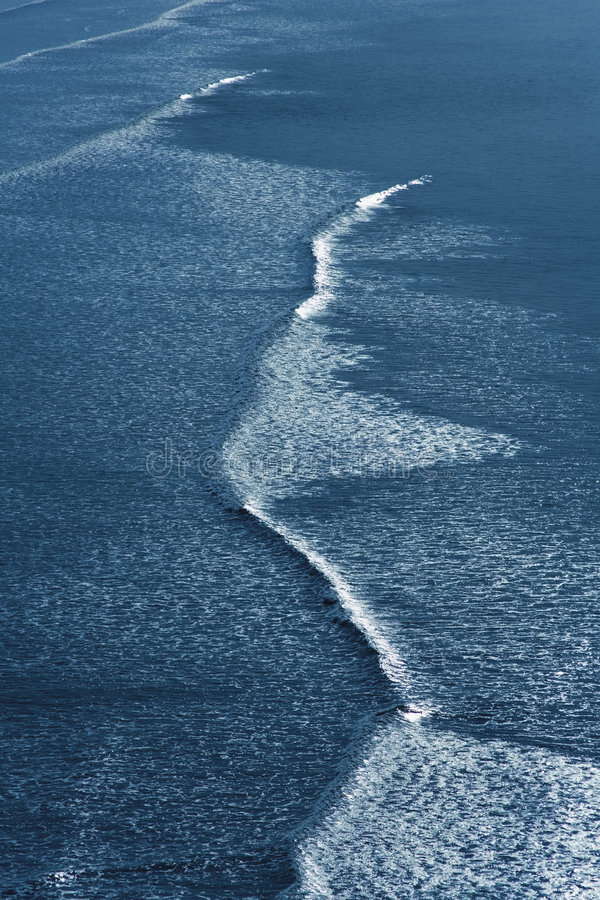 Waves breaking on beach. Ocean sea water coast coastline coastal royalty free stock photos