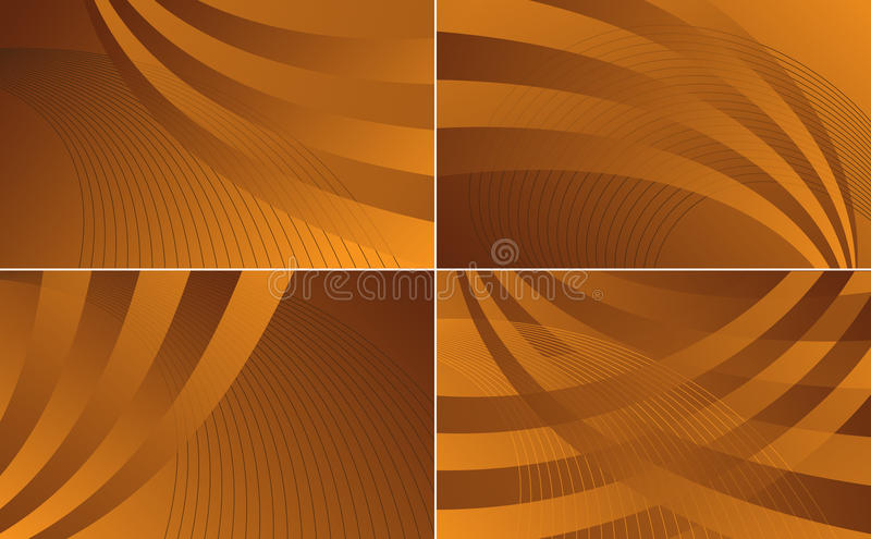 Download Waves Collection Backgrounds Stock Vector - Illustration of abstract, background: 15876047