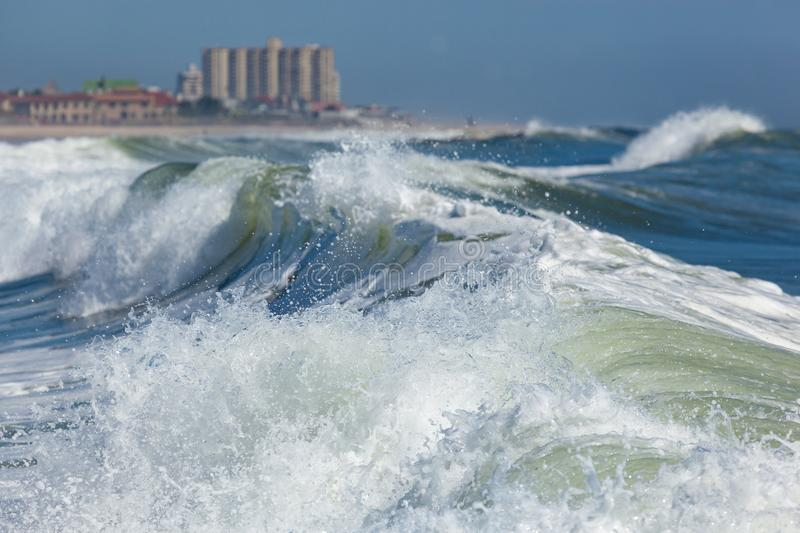 Deal New Jersey Waves royalty free stock image