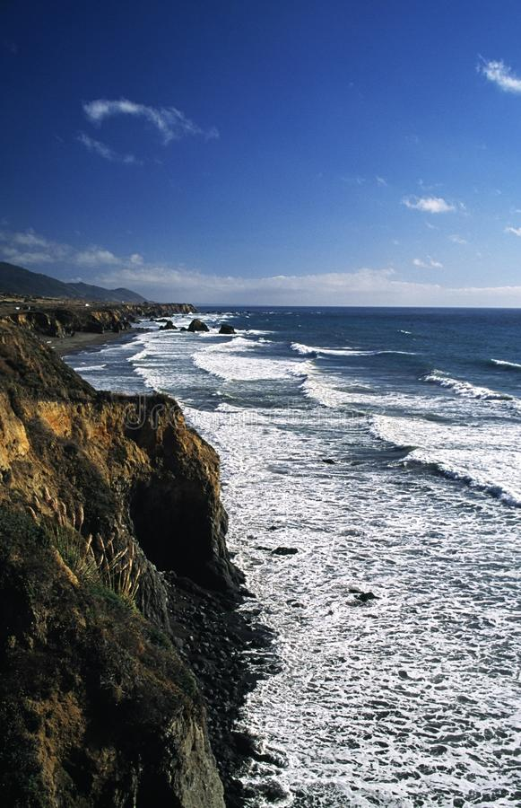 Download Waves Crashing Against Cliffs Stock Photo - Image: 16069364