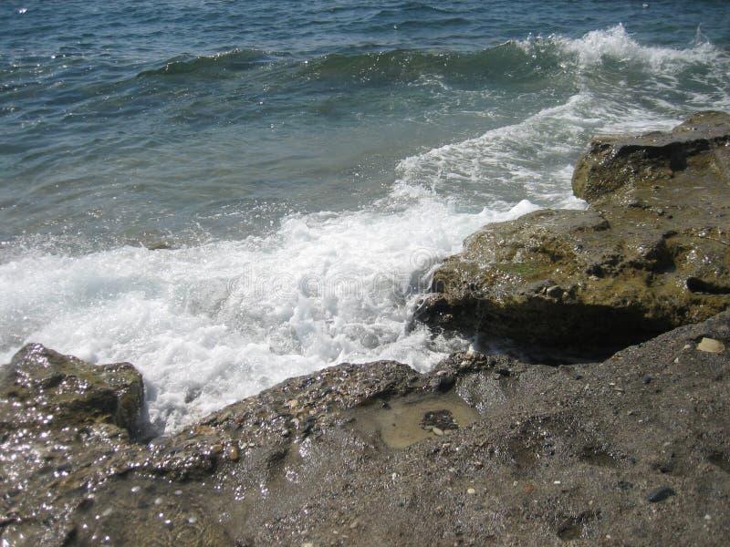 waves för textur för hav för illustrationsdesign naturliga arkivfoton