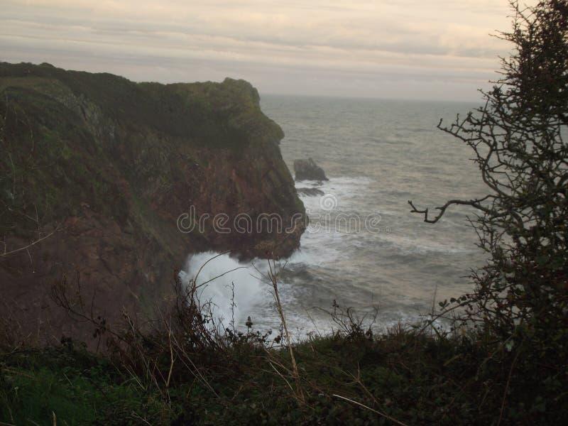 waves för wave för fokusförgrundshav royaltyfri bild