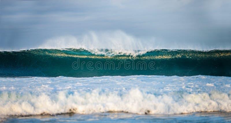 waves för wave för fokusförgrundshav  seascape royaltyfri foto
