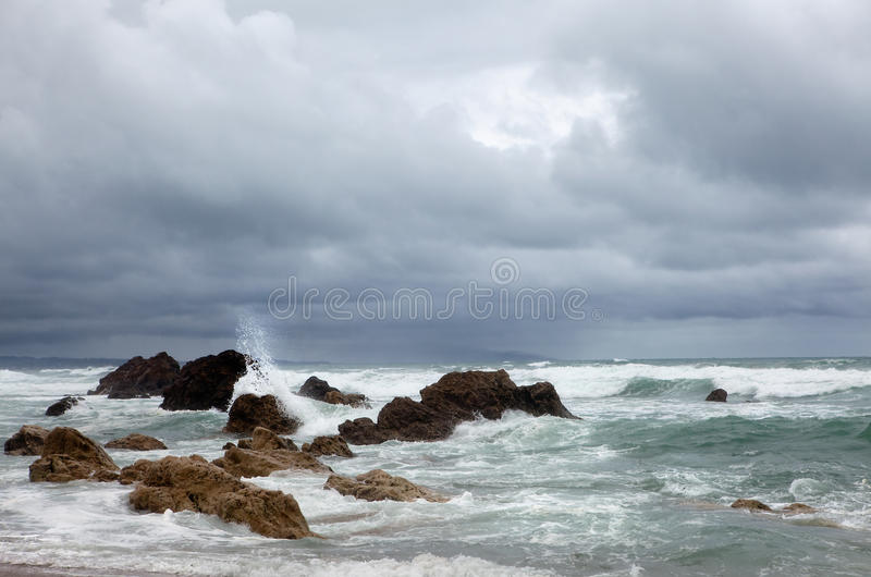 Download Waves And Foam Stock Image - Image: 14868441