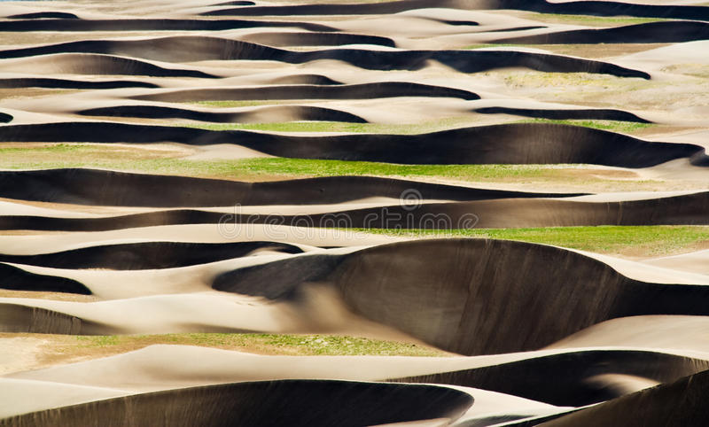 Download Waves On The Great Sand Dunes National Park Stock Image - Image: 13869601