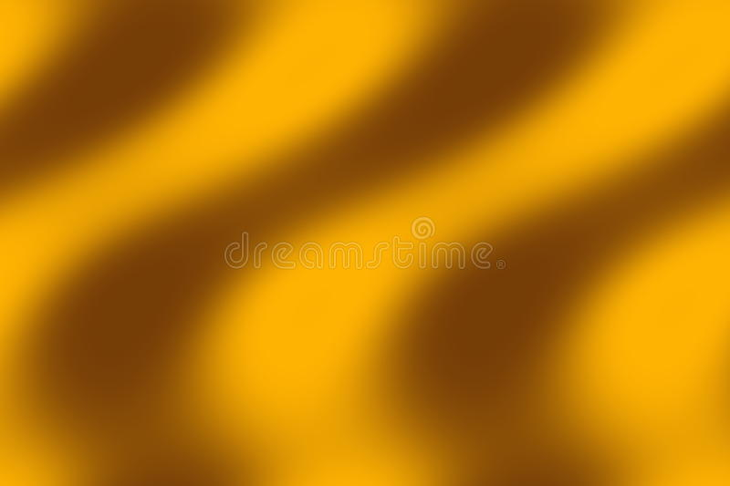 Waves. Illustration of brown and orange waves royalty free illustration