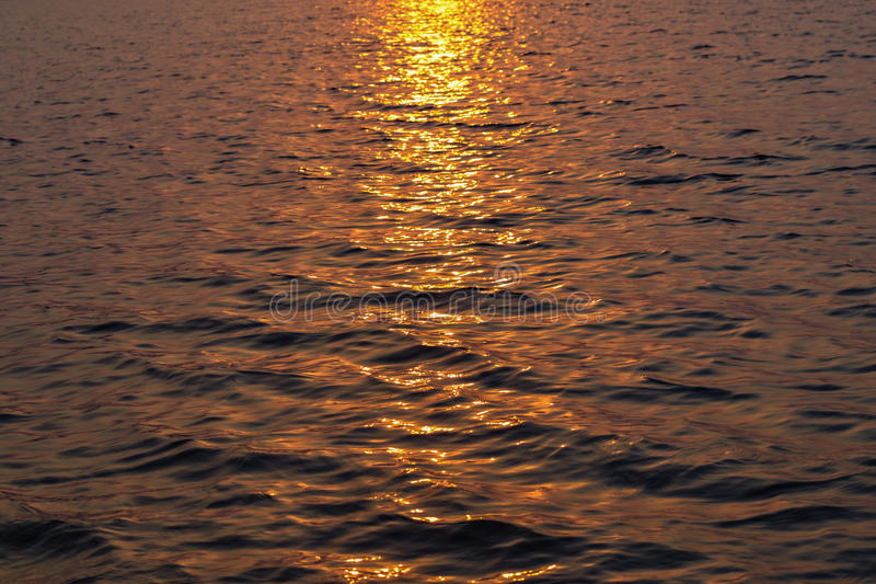 Waves. At Lake in Karjat, India stock photo