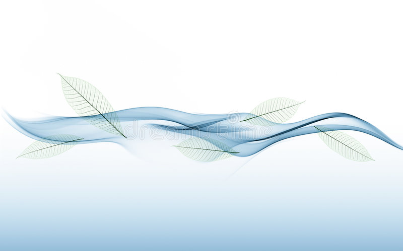 Download Waves and leave stock photo. Image of blue, smoke, waves - 5902298