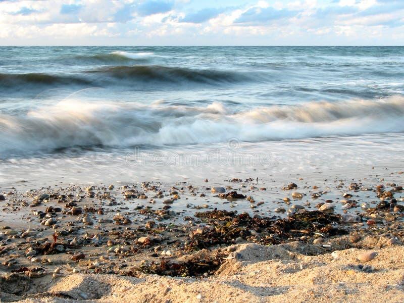 Waves like cotton royalty free stock photo