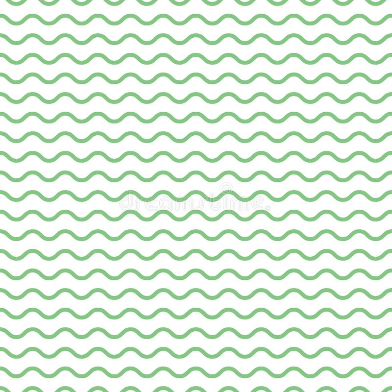Waves pattern, geometric simple background royalty free illustration