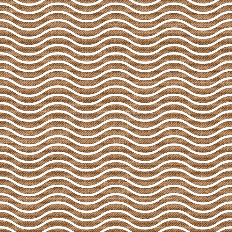 Waves pattern on textile, abstract geometric background. Creative and luxury style illustration stock illustration