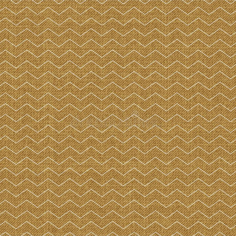 Waves pattern on textile, abstract geometric background. Creative and luxury style illustration vector illustration