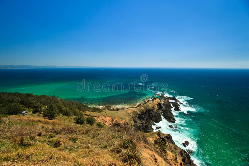 Download Waves At Rocky Pennisula At Byron Bay Lighthouse Stock Image - Image: 13105761