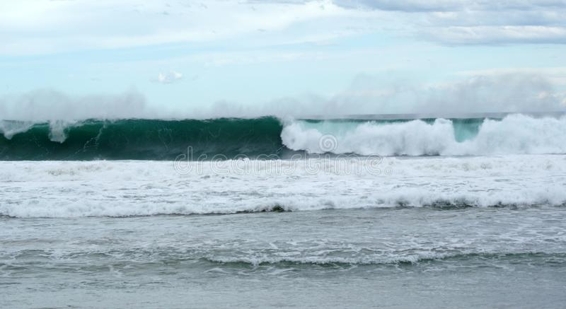 Download Waves Rolling In To Shore Stock Photo - Image: 83724387