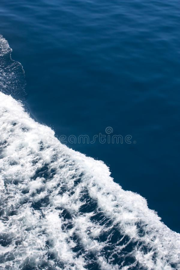 Waves on the sea royalty free stock photos