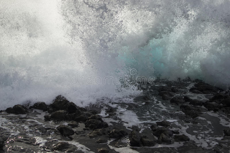 Waves Of The Sea Royalty Free Stock Images