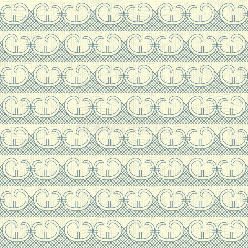 Download Waves seamless pattern stock vector. Image of repeat - 24592957
