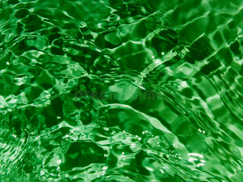 Waves on a water surface. An abstract background stock image