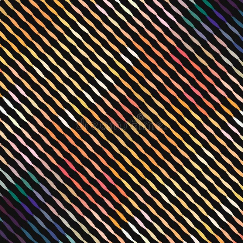 Wavespattern diagonal simple abstrait pour la conception de papier et de tissu photographie stock libre de droits