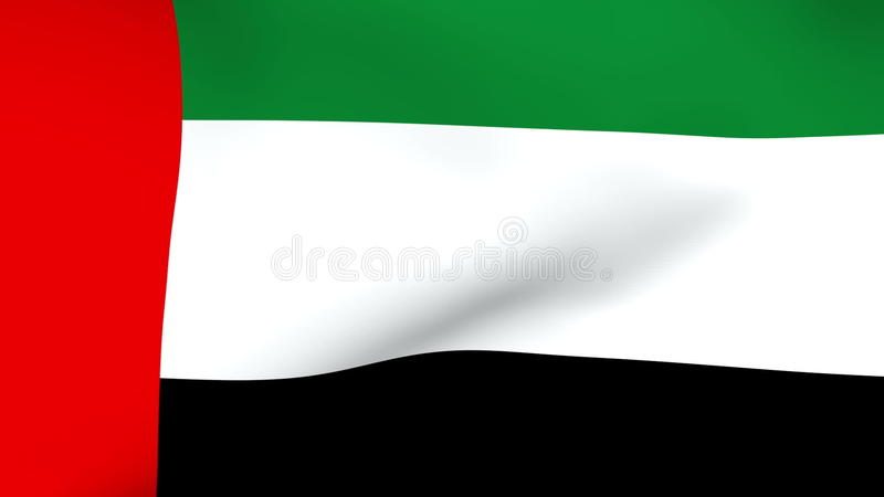Uae Flag Animation
