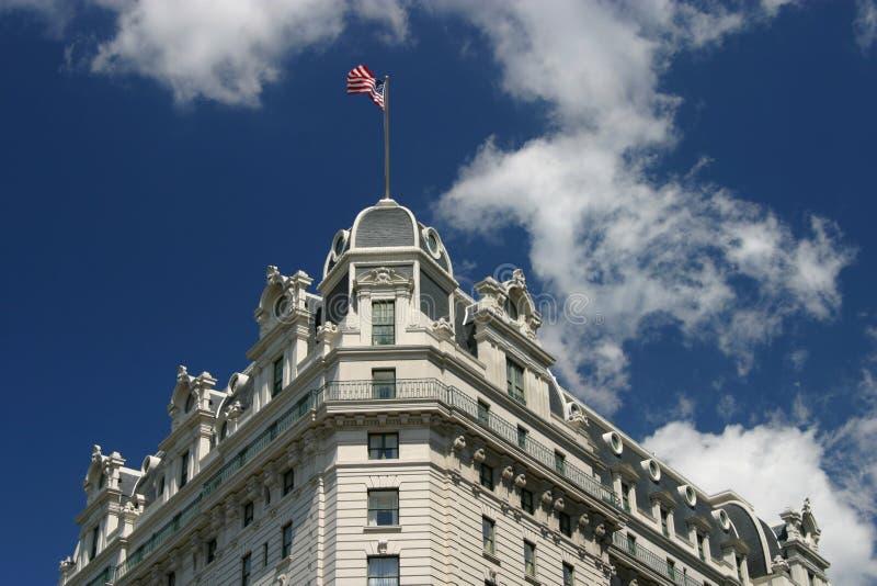 Download Waving in Washington stock image. Image of washington, clouds - 57381