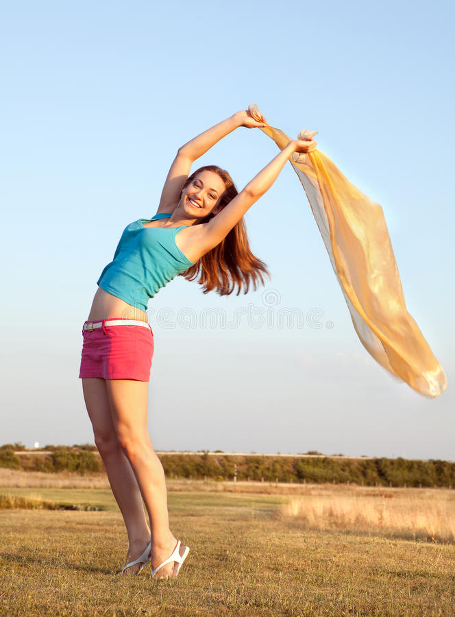 Download Waving in the wind stock image. Image of relaxation, blue - 24276639