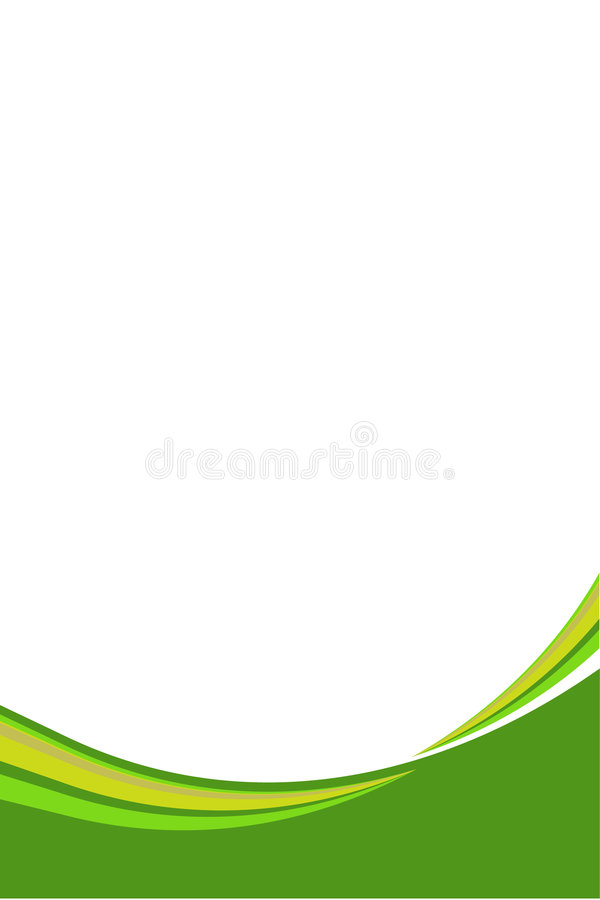Wavy abstract line royalty free illustration