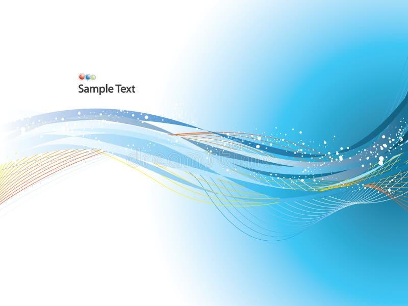 Download Wavy background stock vector. Image of color, active, gradient - 5950495