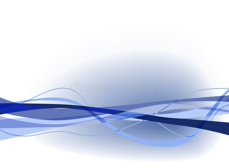 Download Wavy blues stock vector. Image of blue, graphic, design - 3083810