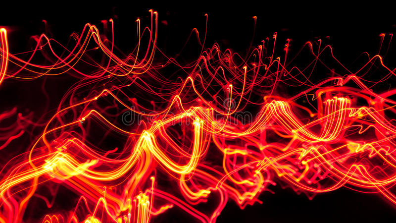 wavy brandlinjer arkivfoton