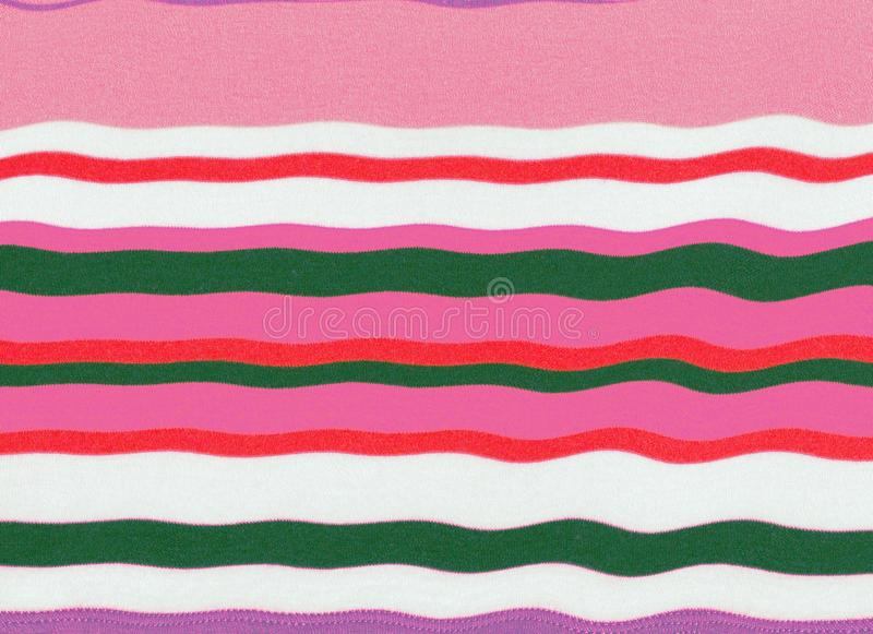 Wavy and colorful pink striped texture . Wavy and colorful pink striped texture for background, wallpaper, white and grey colors stock photo