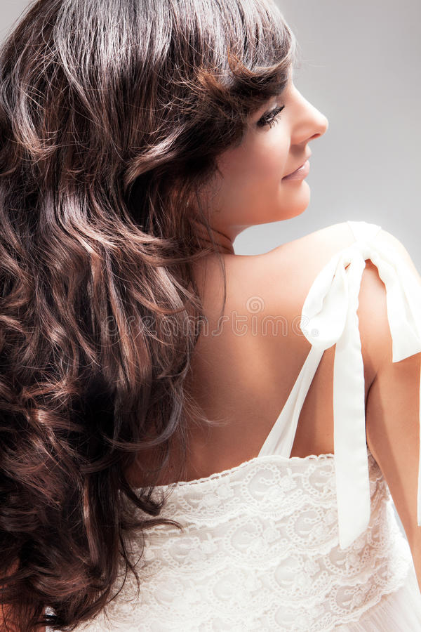 Download Wavy Hair Royalty Free Stock Image - Image: 20977906
